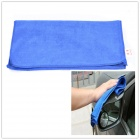 70 x 30cm Multi-functional Microfiber Nanometer Car Washing / Hand Towel - Blue