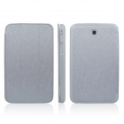 ENKAY ENK-7031 PU Leather Case Stand for Samsung Galaxy Tab 3 7.0 T2100 / T2110 / P3200 - Light Grey