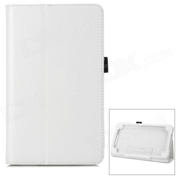 Lichee Pattern Protective 2-Fold PU Leather Case for Google Nexus 7 (Generation II) lichee pattern protective pu leather case stand w auto sleep cover for google nexus 7 ii white
