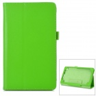 Lichee Pattern Protective 2-Fold PU Leather Case for Google Nexus 7 (Generation II)
