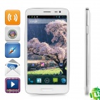 "iNew i3000A Quad-Core Android 4.2 WCDMA Bar Phone w/ 5.0"" HD IPS, GPS and Wi-Fi - White"