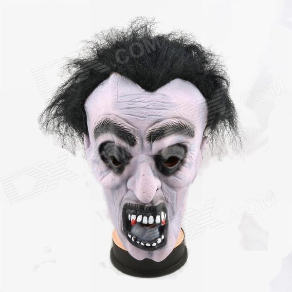 Halloween Zombie Mask - Grey halloween costumes for kids cosplay zombie scary intestines clothes stage outfits for children set horror night zombie clothing