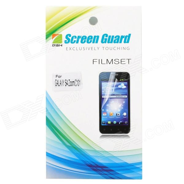 цены Protective Clear Screen Protector Film Guard for Samsung Galaxy S4 Zoom C101 - Transparent