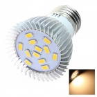 GCD S6 E27 5W 360lm 3500K 12 x SMD 5630 LED Warm White Energy Saving Light Bulb - White (220~240V)