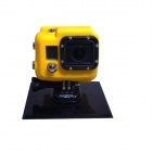 SMJ G-80 Protective Silicone Case for GoPro HD HERO 3 / SJ4000 - Yellow