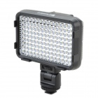 CHEERLINK XT-126 31W 1000lm 4300K 126-LED White Video Light w/ Diffusers - Black