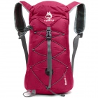 Hasky CY-0972 Outdoor-Nylon faltbare Rucksack - Deep Pink