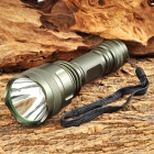 SLT6 900lm 5-Mode Memory White Hunting Flashlight w/ Cree XM-L T6 - Army Green (1 x 18650)