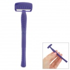 beautyblend D-8001 Handheld Stainless Steel Beauty Hair Shaver Remover - Purple