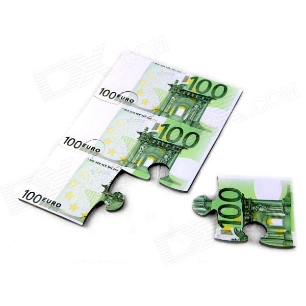 Creative Euro Puzzle Coasters EVA Insulation Cup Mat - White + Green (6 PCS) Fort Collins Classifieds new
