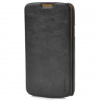 PUDINI WB-i9295R Protective PU Leather + PC Case for Samsung Galaxy S4 Active i9295 - Black
