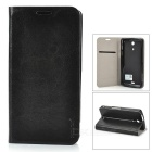 PUDINI WBM36hR Protective PU Leather + PC Case for Sony Xperia ZR M36h - Black