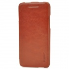 PUDINI WB-HTCM4R Protective PU Leather + PC Case for HTC One Mini M4 - Brown