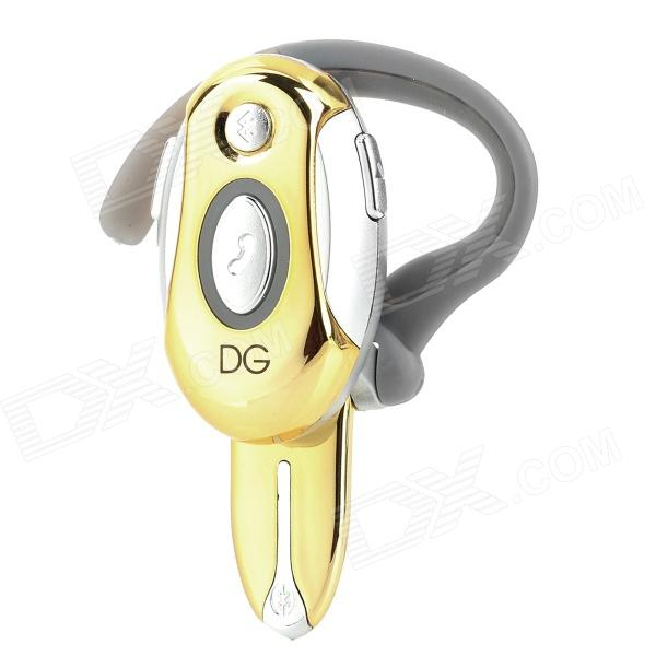 LY-H700-HUANGSE Stylish Bluetooth v2.1 Headset w/ Microphone for Iphone 4 / 4S