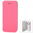 Baseus Protective PU Leather Case for Iphone 5 / 5s - Pink