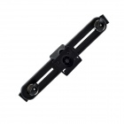 360' Rotation Car Seat Headrest Holder Mount for Ipad 1 / 2 / 3 / Most 9~11 Inch Tablet PC - Black