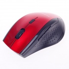 Microkingdom X-200 Vogue 2.4G Wireless 1000dpi Optical Mouse - Red + Black (1 x AA)