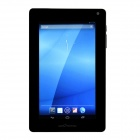 "GALAPAD G1 7"" Quad Core Android 4.1 Tablet PC w/ 1GB RAM, 8GB RAM, GPS, Wi-Fi - Black + Silver"