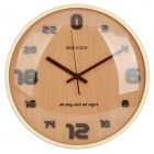 GeeKCooK GK1310007 24-Hour Format Digital Wall Clock - Brown (1 x AA)