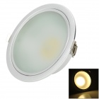 KID KLD-C15-P 15W 700lm 3500lm COB LED Warm White Down Light - Silver (220-240V)