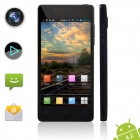XIAOCAI X9 Quad Core Android 4.2 WCDMA Bar Phone w/ 4.5' OGS IPS Screen, Wi-Fi, GPS, 4GB ROM - Black