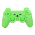 Stylish Wireless Bluetooth Game Pad Controller for PS3 - Green
