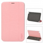 XUNDD Protective PU Leather + Plastic Case for Samsung Galaxy Tab3 T310 / T311 - Pink