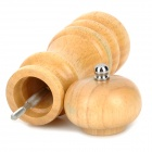 5306 Classical Wooden Manual Pepper Spice Mill Grinder Muller - Wood