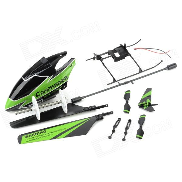 Replacement R/C Helicopter Parts Kit for V911 - Black + Green replacement fuser gear for ricoh ft 1015