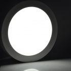 18W 1500LM 6500K 90-SMD 3528 White Recessed Ceiling Panel Down Light - White (90~265V)