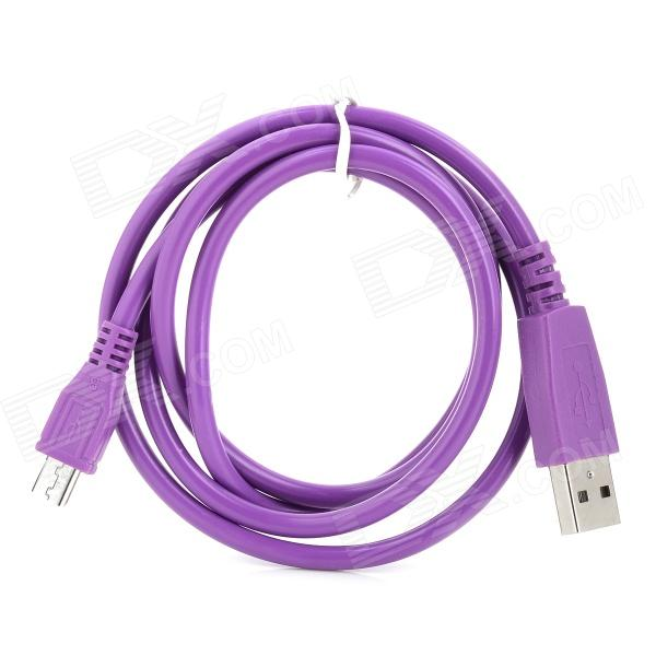 USB to Micro USB Data / Charging Cable for Samsung / HTC / Nokia / Motorola - Purple (1m) мика варбулайнен призрак записки библиотекаря фантасмагория