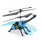 S700 4.5-CH IR Remote Controlled Simulation Dragonfly Helicopter - Blau