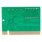 A003 Desktop Computer Error Analyzer / Diagnostic Test Post Card - Green + Multicolored