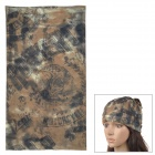 Acacia 6032517 Outdoor Sports Seamless Polyester Fiber Turban Kopftuch - Camouflage