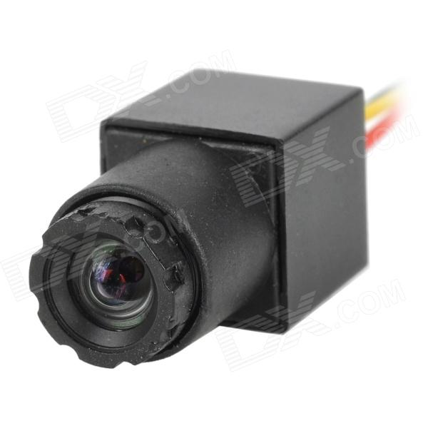 ZnDiy-BRY 1/3 CMOS PAL Mini Video Camera w/ Charger - Black