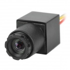 ZnDiy-BRY 1/3 CMOS PAL PAL Mini Video Camera w/ Charger - Black