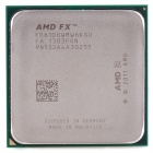 AMD FX-6100 95W Piledriver Six Core 3.3GHz CPU w/ Cooling Fan - Golden + Silver