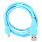 Universal USB Male to Micro USB Male Anti-freezing Charging & Data Sync Cable for Samsung + More