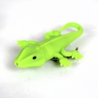 Lizard Style LED White Light Keychain w/ Sound Effect - Green (3 x AG10)