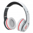 Syllable G08S-002 Folding Design Wireless Bluetooth V4.0 + EDR Stereo Headphone w/ Microphone- White