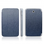 ENKAY ENK-7031 Protective PU Leather Case for Samsung Tab 3 7.0 T2100 / T2110 / P3200 - Deep Blue