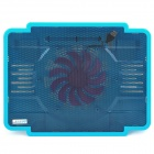 COOLCOLD PRO1 Ultra Thin USB  Cooling Pad Fan Cooler for Laptop - Blue + Black