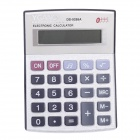 "YGANO DS-9288A 3.05"" LCD 8-Digit Electronic Calculator - Black + Silver + Red + Purple (1 x AG10)"