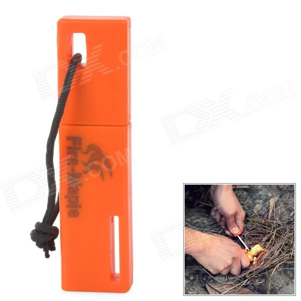 FireMaple FMP-709 Outdoor Camping cério Ferro Alloy Vara Fire Starter Flintstone - Orange