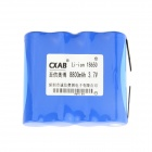 AOB 18650 3.7V 8800mAh Rechargeable Li-ion Battery Pack - Blue