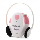 Jumper JPD-100S Household ABS Fetal Heart Detector / Recorder - White + Pink (1 x 9V Battery)
