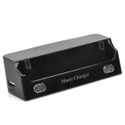 4000mAh  Micro Usb Docking Station w/ Speaker for Samsung Galaxy S4 + More - Black