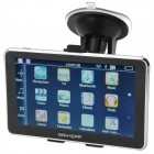"Chuangzhuo 70T TV 5"" Resistive Touch Screen Brazil Map TV ISDB-T GPS w/ Bluetooth / FM Transmitter"