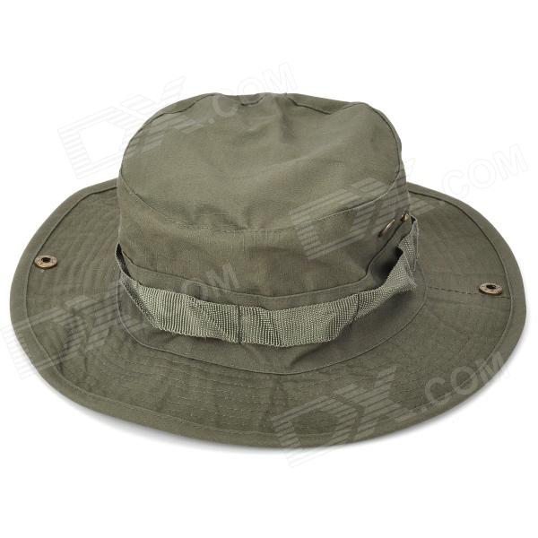 Outdoor Dual Layer Fisherman Hat - Army Green