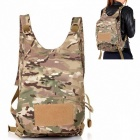 BOZB Nylon Multi-functional Outdoor Backpack - Camouflage Grey